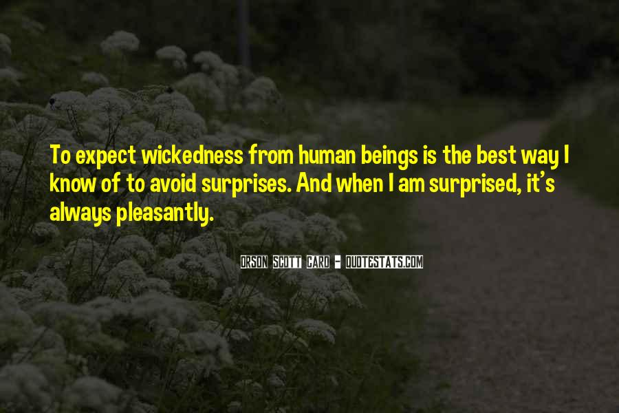 Quotes About Wickedness #78668
