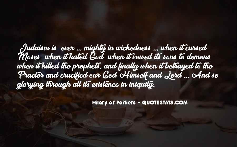 Quotes About Wickedness #82869