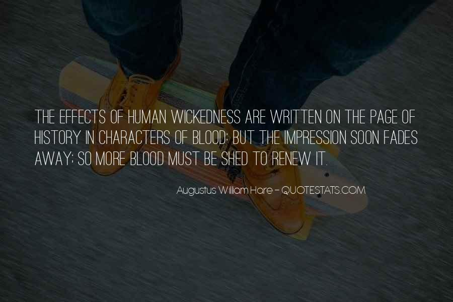 Quotes About Wickedness #92633
