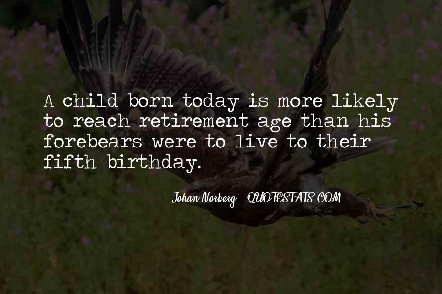 Quotes About Child's Birthday #110973