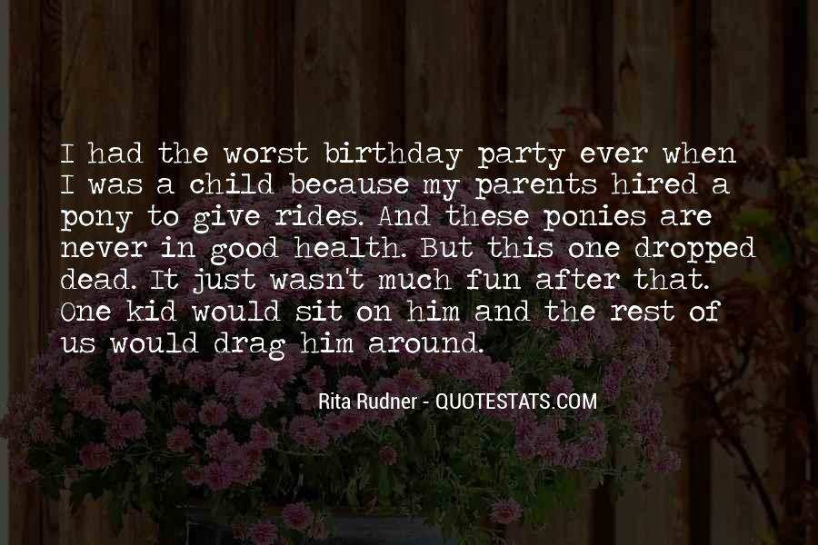 Quotes About Child's Birthday #1645943