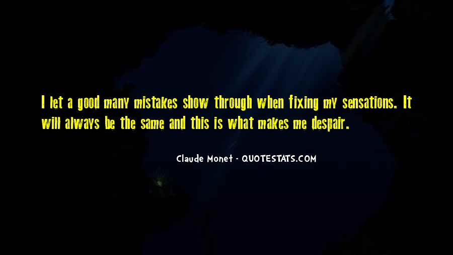 Quotes About Fixing Mistakes #1175272
