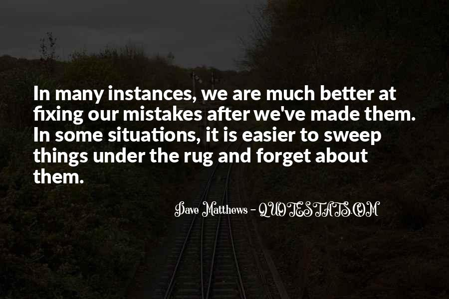 Quotes About Fixing Mistakes #1836091