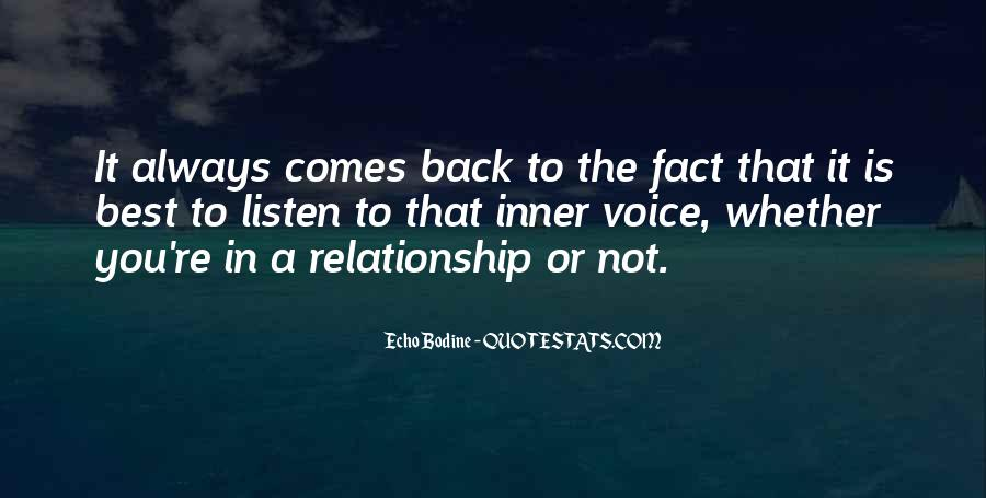 Quotes About Inner Voice #108314
