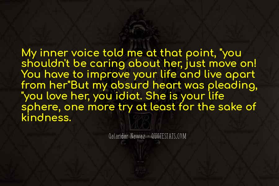 Quotes About Inner Voice #152469