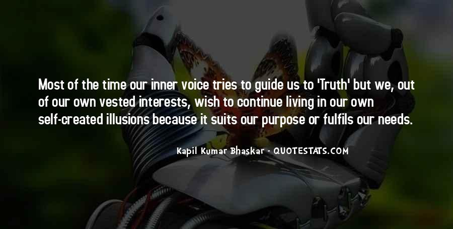 Quotes About Inner Voice #179482