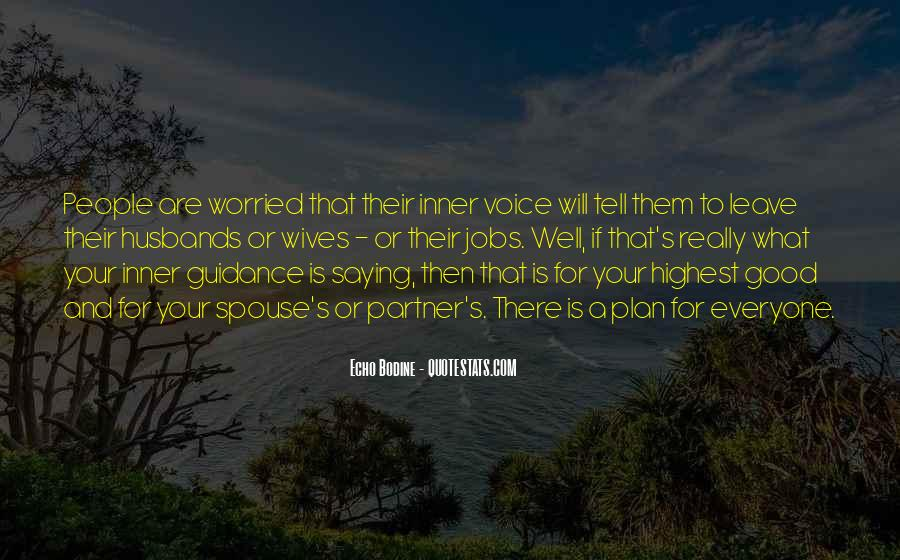 Quotes About Inner Voice #231249