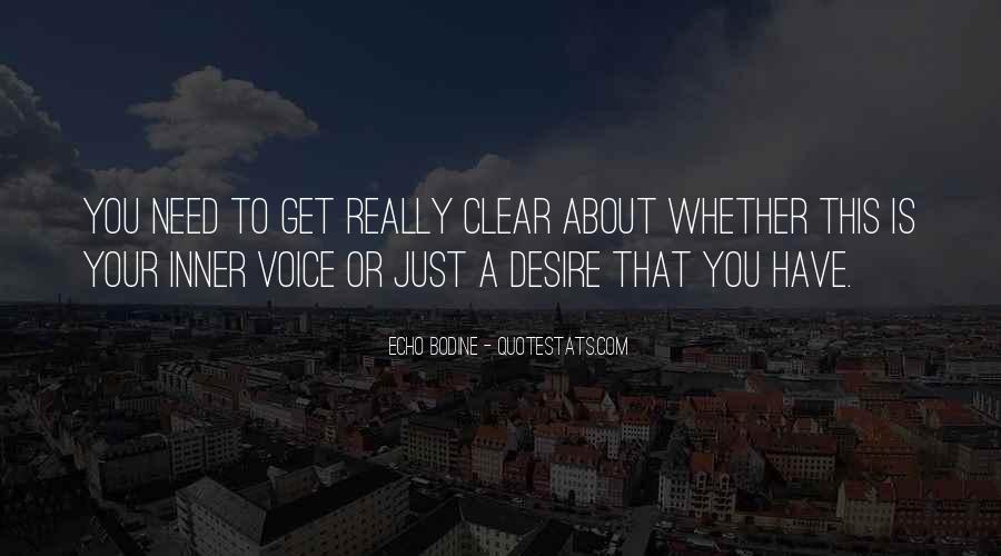 Quotes About Inner Voice #287988