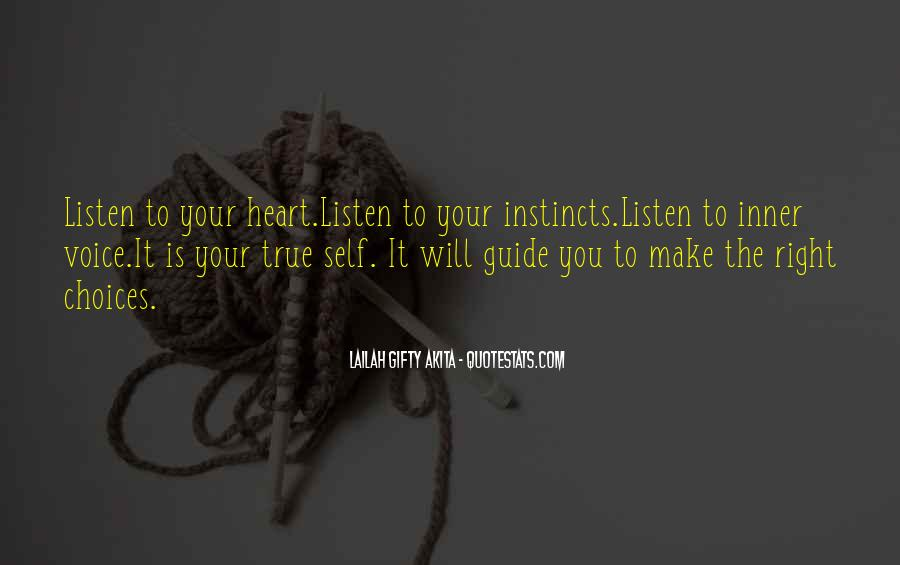 Quotes About Inner Voice #292319