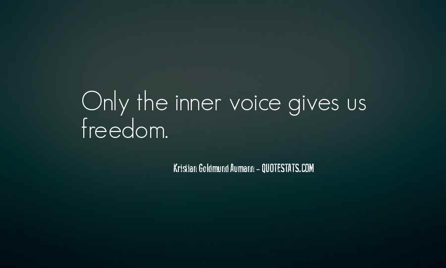 Quotes About Inner Voice #323484