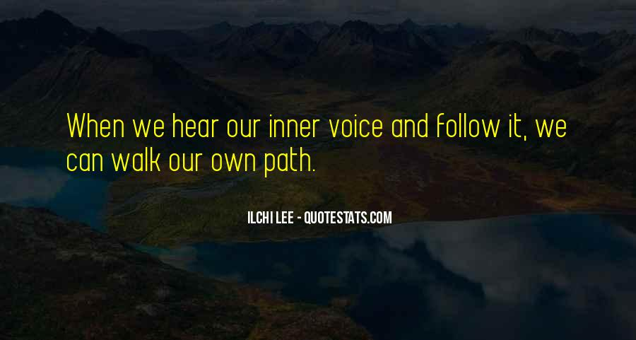 Quotes About Inner Voice #337837