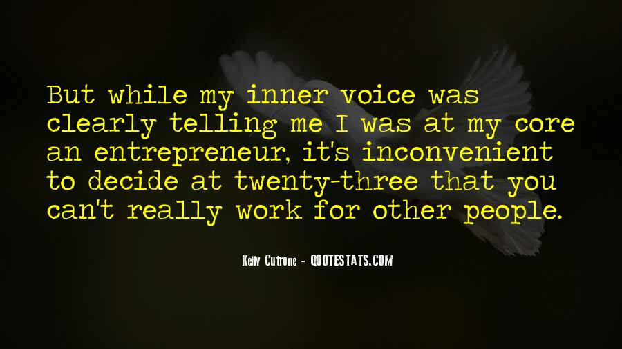 Quotes About Inner Voice #34467