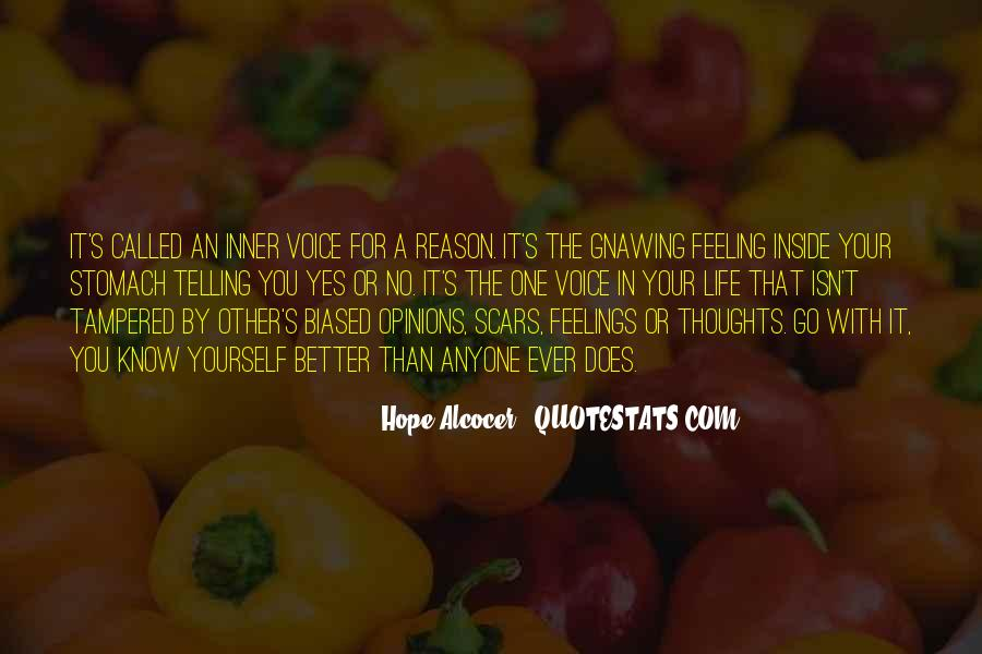 Quotes About Inner Voice #375107