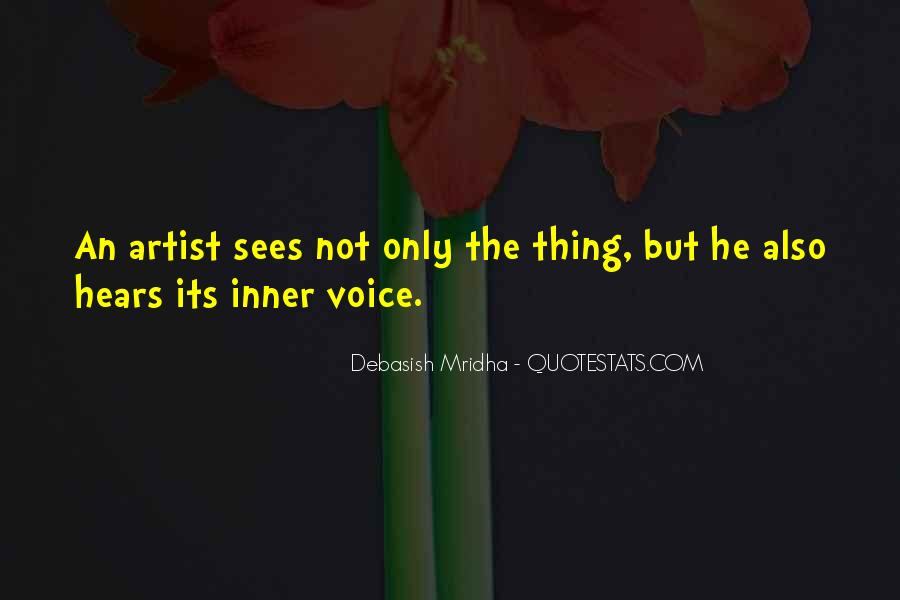 Quotes About Inner Voice #430407