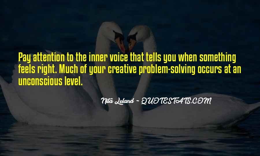 Quotes About Inner Voice #437273