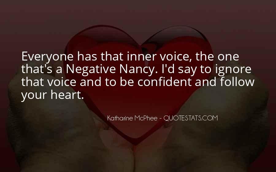 Quotes About Inner Voice #489628