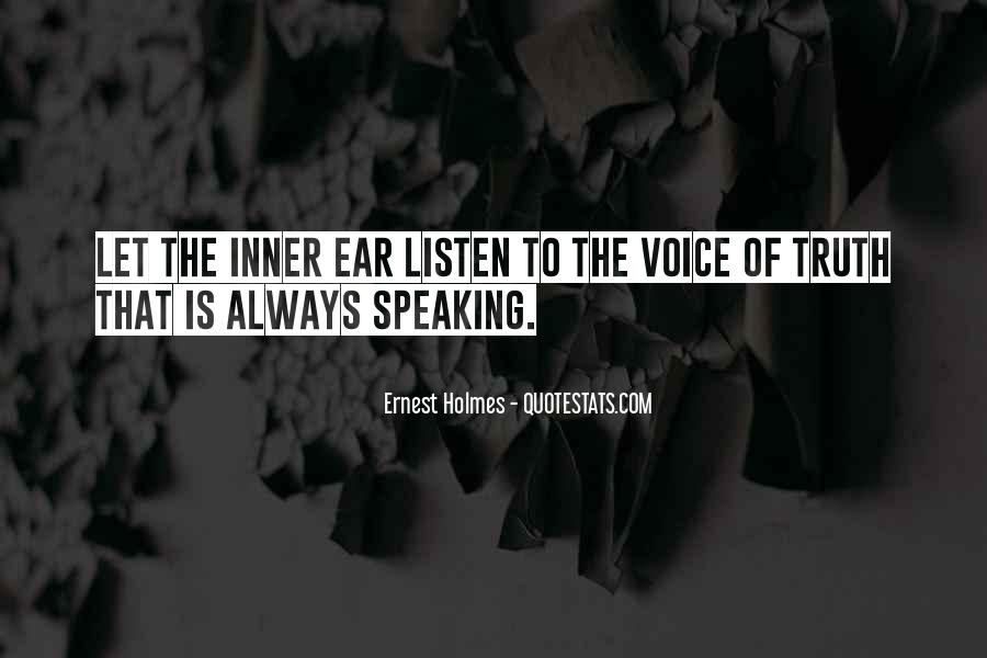 Quotes About Inner Voice #51982