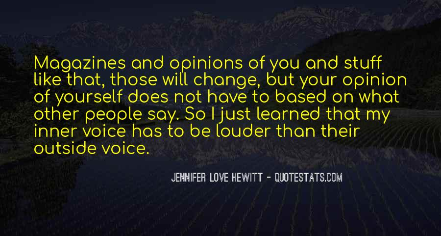 Quotes About Inner Voice #531181