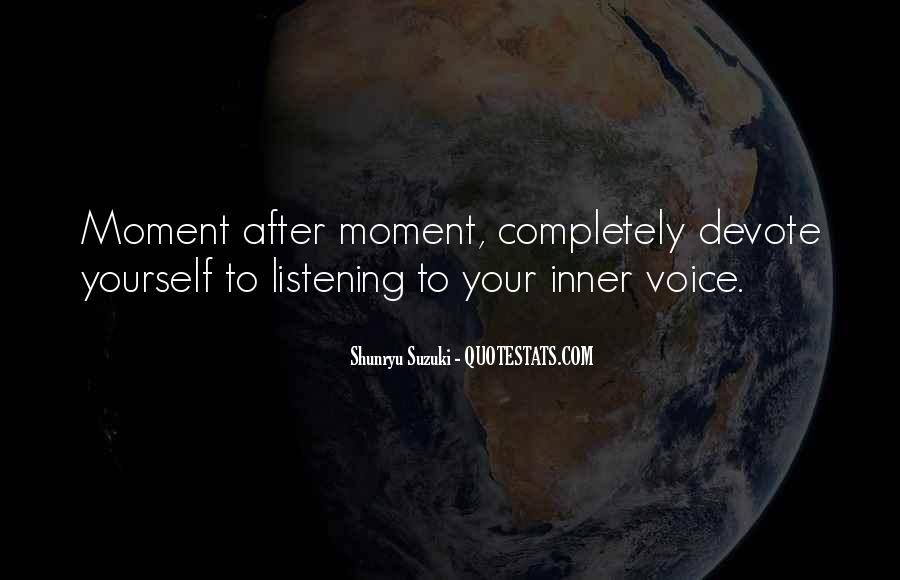 Quotes About Inner Voice #57844