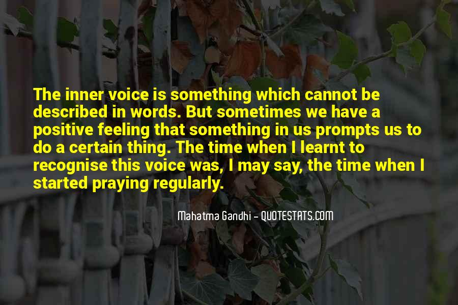 Quotes About Inner Voice #601909