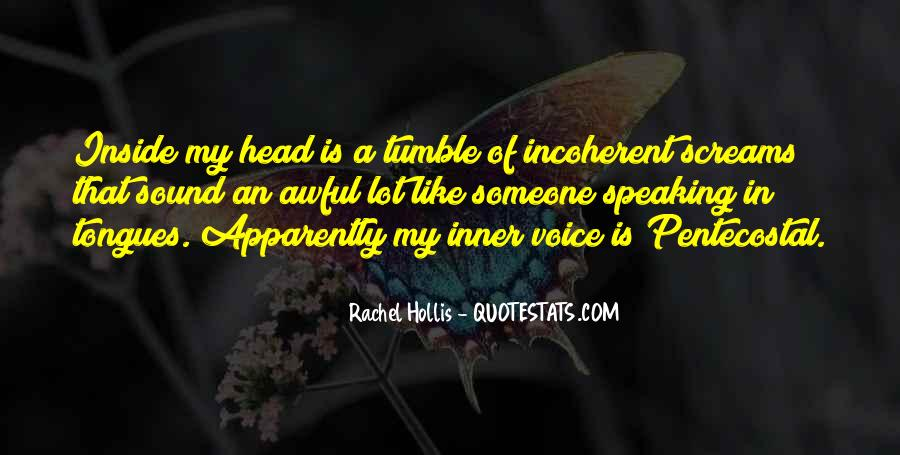 Quotes About Inner Voice #611417