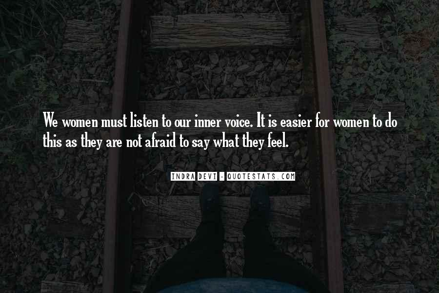 Quotes About Inner Voice #635996