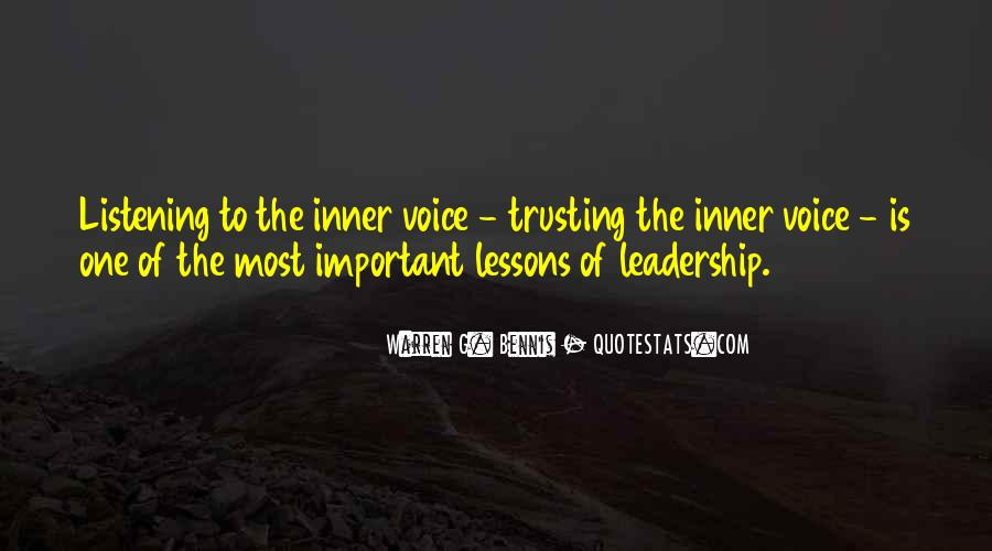Quotes About Inner Voice #670121