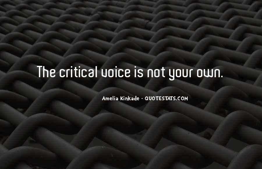 Quotes About Inner Voice #690850