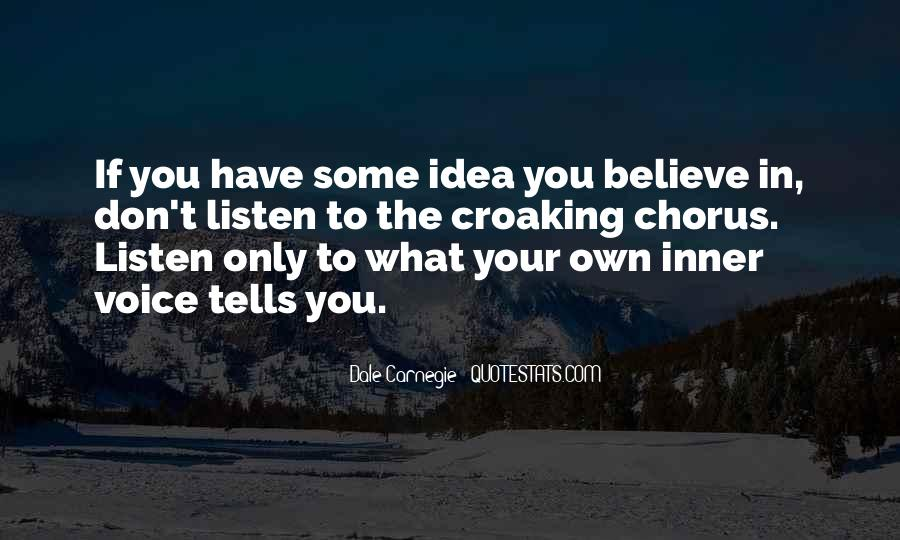 Quotes About Inner Voice #7220