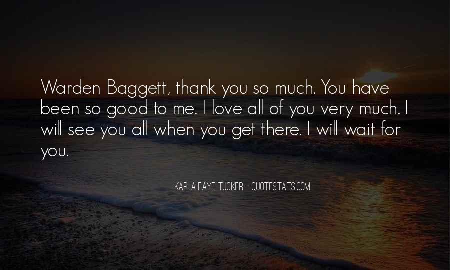 Quotes About Thank You All #31855