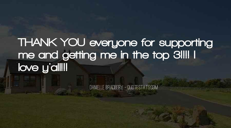 Quotes About Thank You All #399003