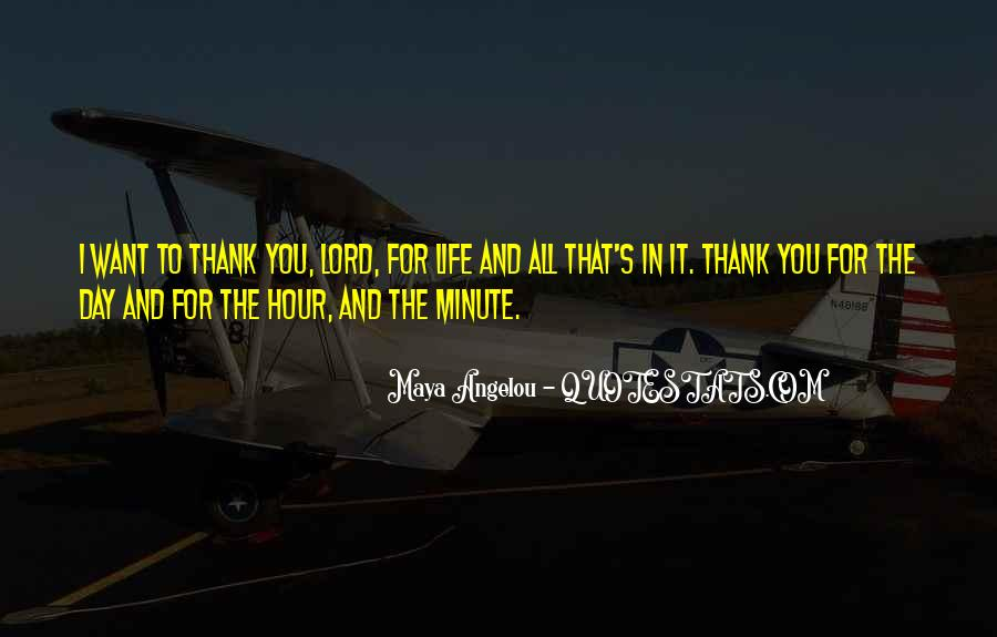 Quotes About Thank You All #508840