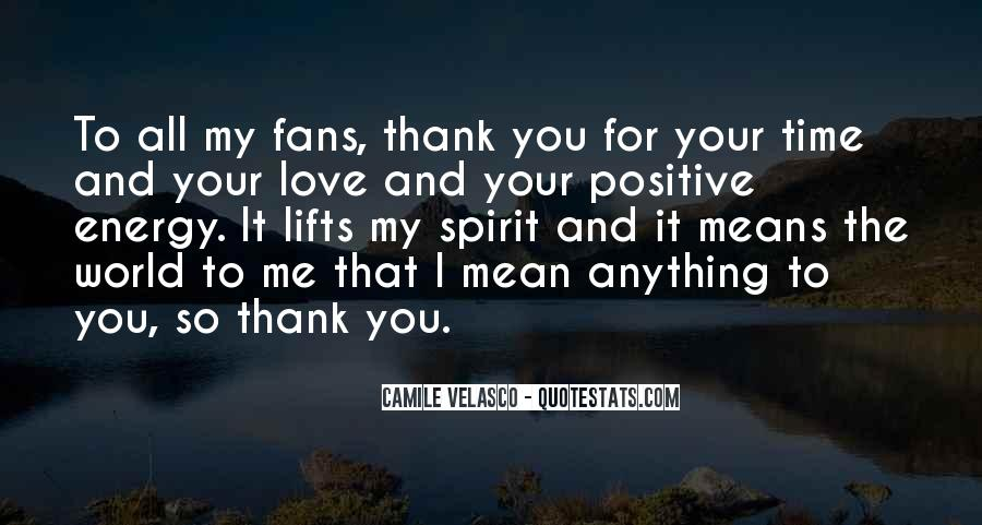 Quotes About Thank You All #66459