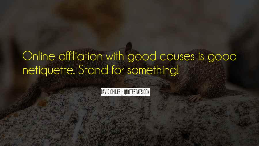 Quotes About Stand For Something #997703