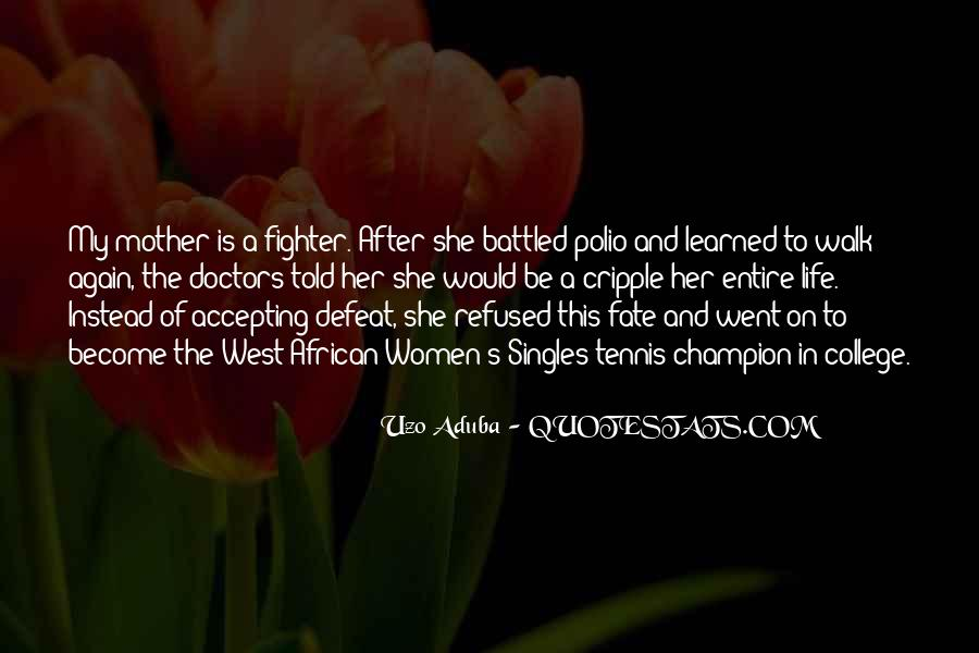 Quotes About Accepting Defeat #1634226
