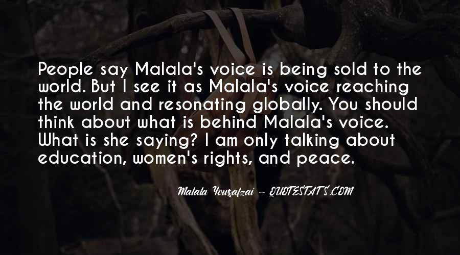 Quotes About I Am Malala #1443185