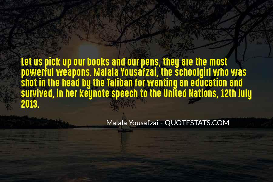 Quotes About I Am Malala #83578