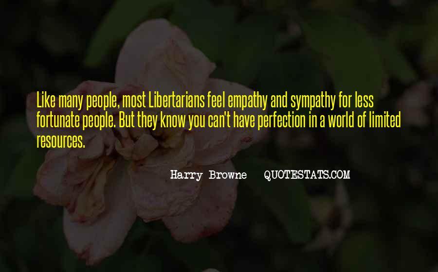 Quotes About Empathy Vs Sympathy #1065159