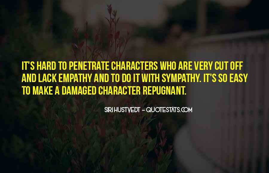 Quotes About Empathy Vs Sympathy #1116145