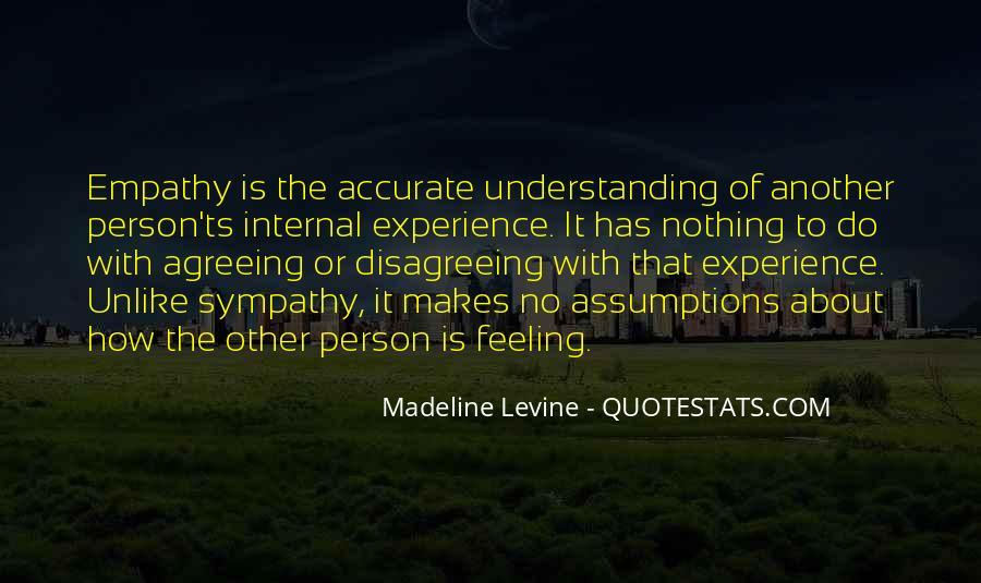 Quotes About Empathy Vs Sympathy #1192483