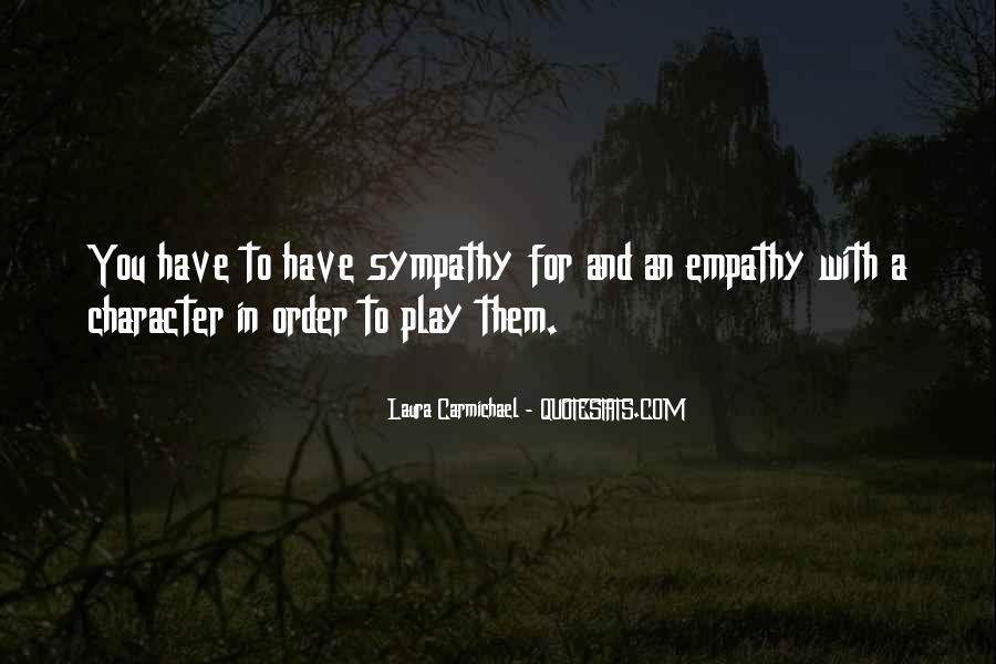 Quotes About Empathy Vs Sympathy #1203988