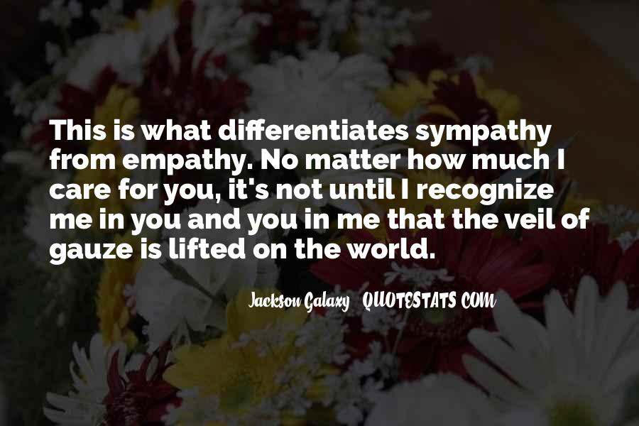 Quotes About Empathy Vs Sympathy #1218494