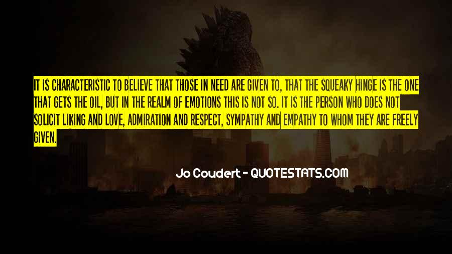Quotes About Empathy Vs Sympathy #137557
