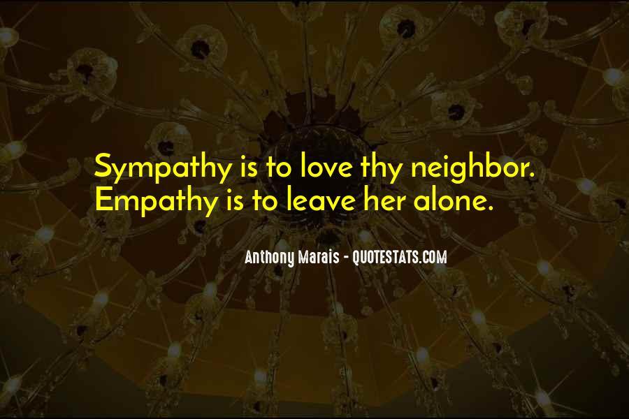 Quotes About Empathy Vs Sympathy #1513625