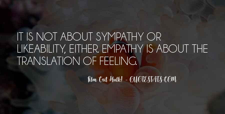 Quotes About Empathy Vs Sympathy #1621924