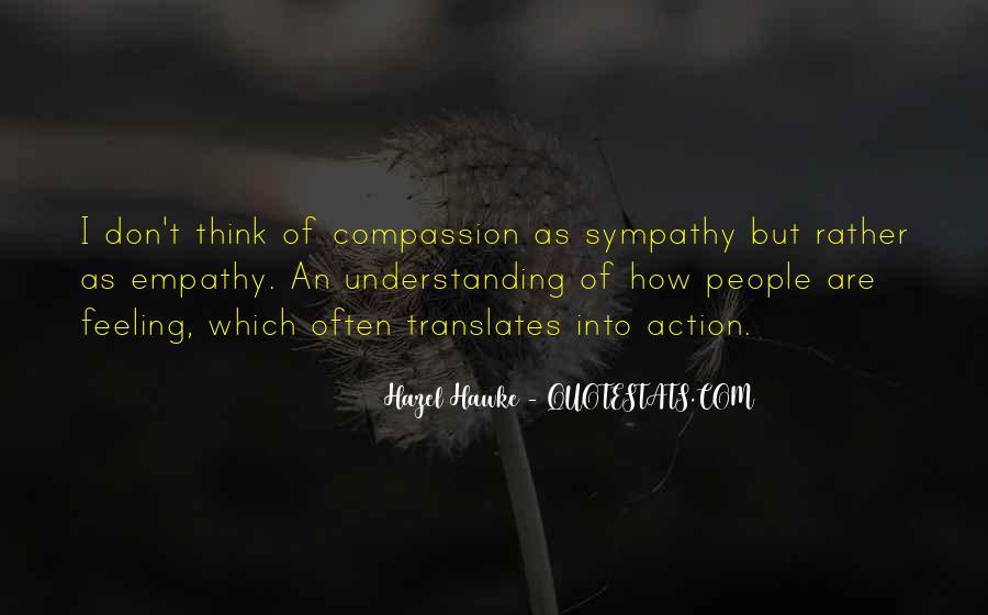 Quotes About Empathy Vs Sympathy #1835729