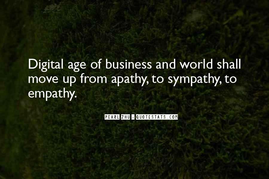 Quotes About Empathy Vs Sympathy #1845508