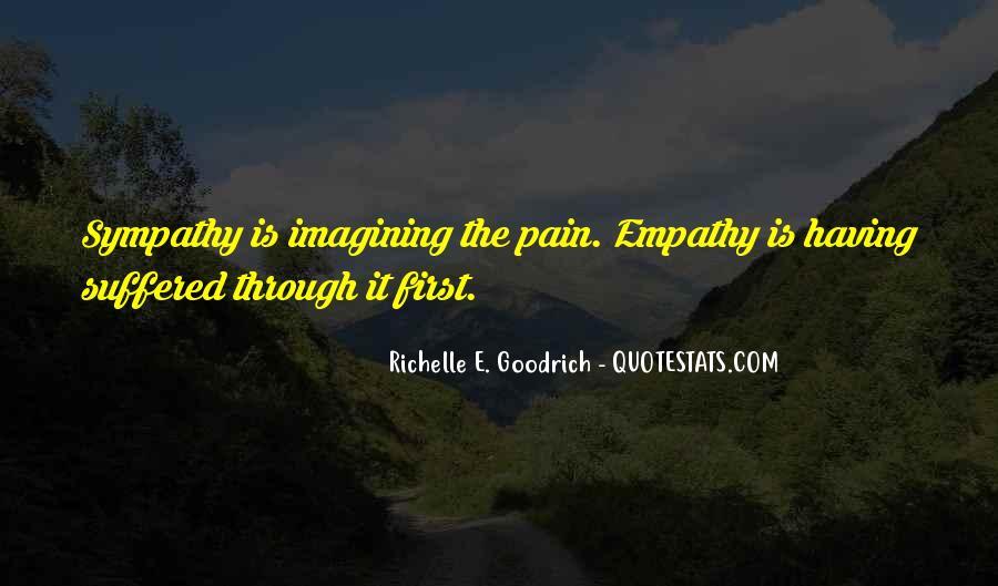 Quotes About Empathy Vs Sympathy #278451