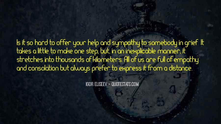 Quotes About Empathy Vs Sympathy #385191
