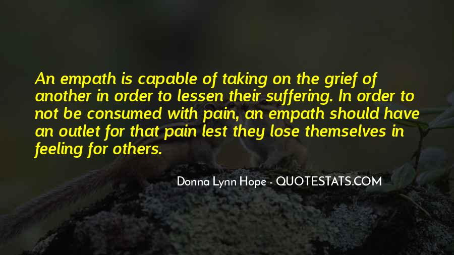 Quotes About Empathy Vs Sympathy #400279